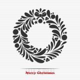 Christmas garland Royalty Free Stock Photo
