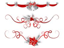 Christmas garlands Royalty Free Stock Images
