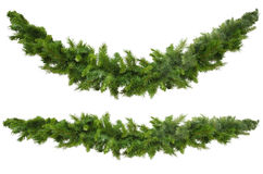 Christmas Garlands Royalty Free Stock Photo