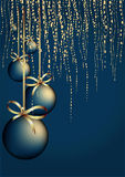 Christmas garnish background Royalty Free Stock Photo