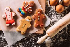 Christmas gay cookies festive pastry collection