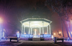 Christmas Gazebo Stock Photos