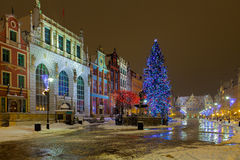 Christmas in Gdansk Stock Images
