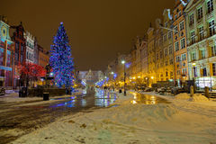 Christmas in Gdansk Stock Image