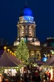 Christmas at Gendarmenmarkt in Berlin, Germany Stock Photos
