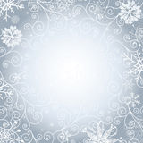 Christmas gentle frame Royalty Free Stock Image