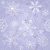 Christmas gentle repeating pattern Stock Photography