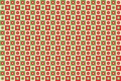 Christmas geometric pattern background Royalty Free Stock Image