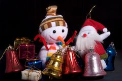 Christmas gift. A Some things Christmas gifts Royalty Free Stock Photo