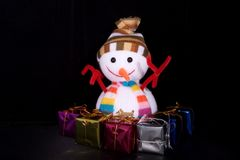 Christmas gift. A Some things Christmas gifts Royalty Free Stock Photography