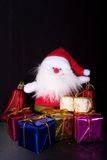 Christmas gift. A Some things Christmas gifts Stock Photography
