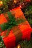 christmas gift Στοκ φωτογραφία με δικαίωμα ελεύθερης χρήσης