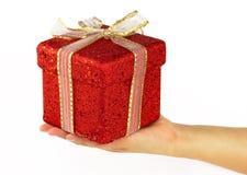 Christmas gift Royalty Free Stock Photos