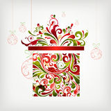 Christmas gift royalty free illustration