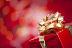 Christmas Gift Royalty Free Stock Photo