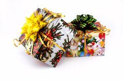 Christmas gift. Christmas toys and gifts Royalty Free Stock Images