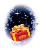 Christmas gift stock illustration