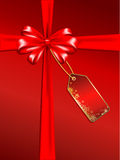 Christmas gift background Stock Images