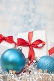 Christmas Gift background Stock Photos