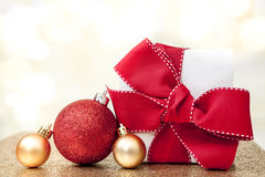 Christmas Gift background Royalty Free Stock Images