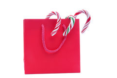 Christmas Gift Bag Royalty Free Stock Photo