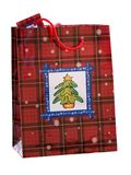 Christmas gift bag Royalty Free Stock Images