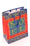Christmas Gift Bag royalty free stock photos