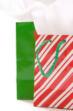 Christmas gift bags Stock Photos