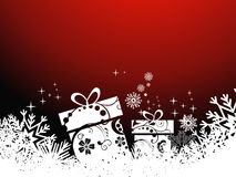 Christmas gift beautiful artistic background Stock Images