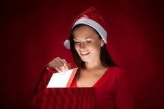 Christmas gift. Royalty Free Stock Image
