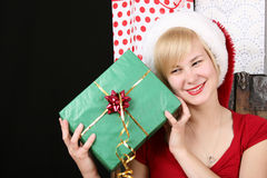 Christmas gift Stock Images