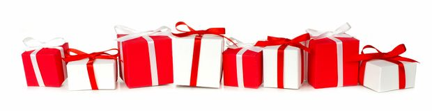 Free Christmas Gift Border Royalty Free Stock Photography - 46983057