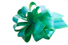 Christmas gift bow. Stock Photography