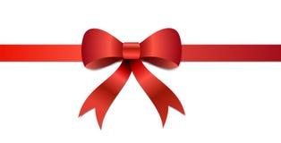 Christmas gift Bow illustration Royalty Free Stock Image