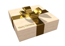 Christmas gift box. On a white background vector illustration