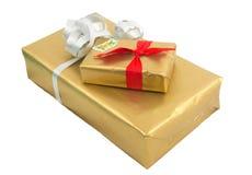Christmas gift box Royalty Free Stock Photo