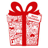Christmas gift box Royalty Free Stock Photo