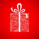 Christmas Gift Box stock illustration