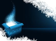 Christmas Gift Box. Abstract Background Illustration, Vector Stock Image