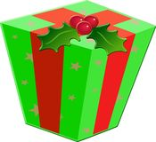 Christmas Gift Box stock illustration