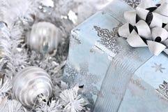 Christmas gift box Stock Image