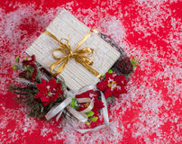 Christmas gift in box. Stock Image