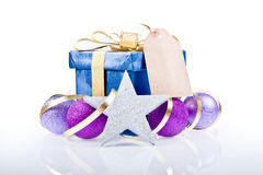 Christmas Gift Box Decoration Stock Photography