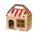 Christmas gift box Stock Photos