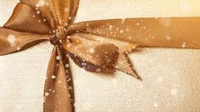 Christmas gift box stock footage