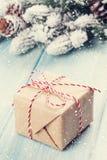 Christmas gift box Royalty Free Stock Photos