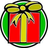 Christmas gift box vector illustration Royalty Free Stock Photography