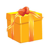 Christmas gift boxe Stock Images