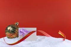 Christmas gift boxe Royalty Free Stock Photo