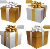 Christmas Gift boxes Stock Image